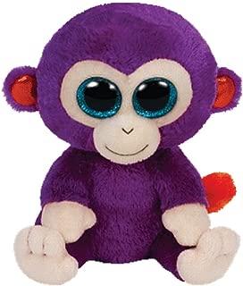 Ty Beanie Babies Plush Grapes the Purple Monkey 6