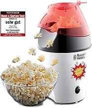 Russell Hobbs Fiesta Popcornmaskin, tillagar upp till 12 koppar popcorn (35-50g), Cirkulerande varmluft gör så att ingen o...