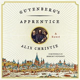 Gutenberg's Apprentice audiobook cover art