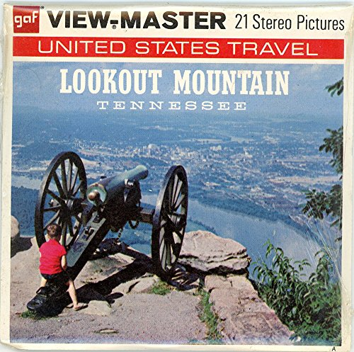 Lookout Mountain - Classic ViewMaster - 3 Reel Set - 3D Images