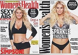 Women's Health Magazine (September, 2016) Jessica Simpson Cover