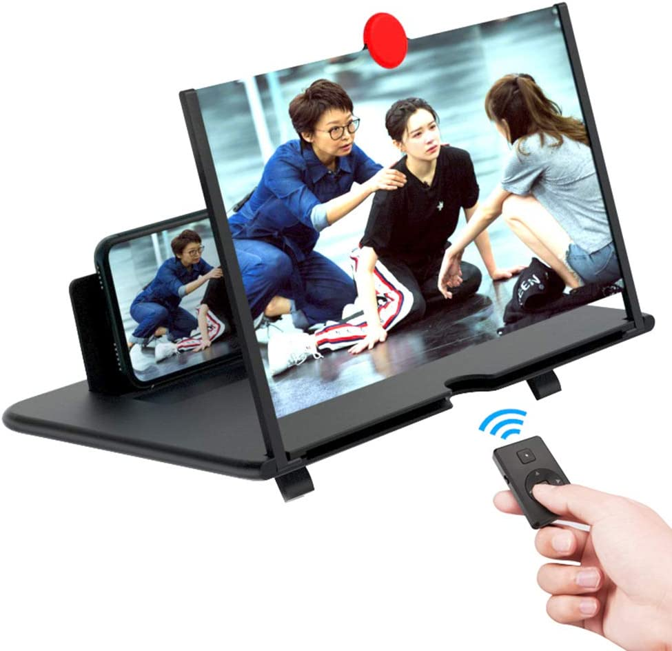 NEW Daily necessities LTD Great interest 12-inch Mobile Phone Lar Amplifier Screen