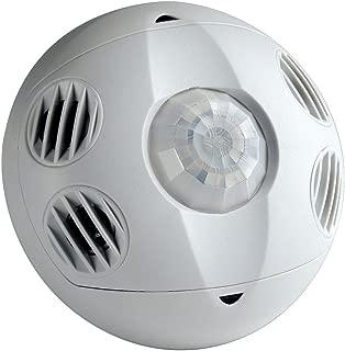 Leviton OSC20-M0W Ceiling Mount Occupancy Sensor, Multi-Technology, 360 Degree, 2000 sq. ft. Coverage, Self-Adjusting, White