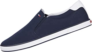Tommy Hilfiger Uomo Sneakers Slip On iconiche, Blu