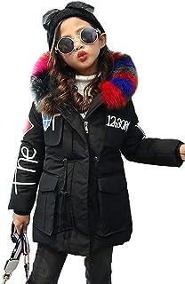 Nemopter - Abrigo de plumón para niña, con capucha