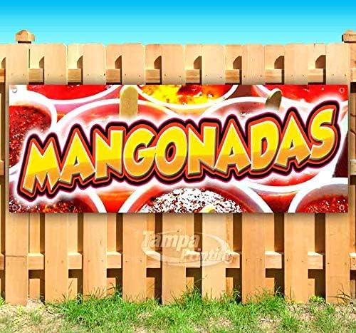 Inexpensive Daily bargain sale Mangonadas 13 oz Banner Heavy-Duty Single-S Vinyl Non-Fabric