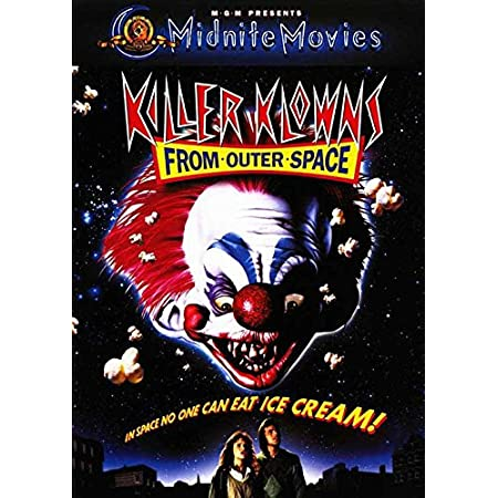 Killer Klowns from Outer Space Classic Movie Poster Art Fabric Hot Decor X-538