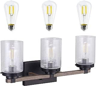 Best farmhouse flush mount lighting Reviews
