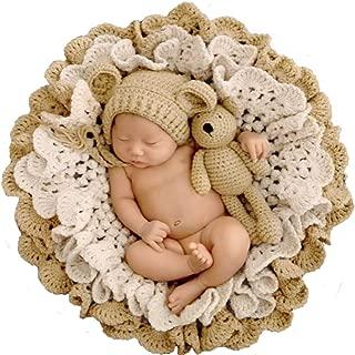 Newborn Baby Boy Girls Braided Knitted Basket Rug Blanket Photography Photo Prop