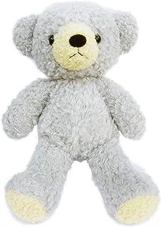 童心 くま ぬいぐるみ グレー ぬい撮りに挑戦 クマのフカフカ オリジナル 高さ29㎝