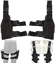 Lux Left Hand & Right Hand Adjustable Universal Waterproof Pistol/Gun Drop Puttee Leg Thigh Holster Pouch Holder