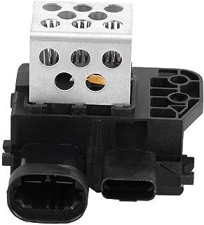 Qiilu Radiator Fan Resistor Engine Cooling Fan Module Resistor for Citroen C4 Picasso Berlingo 9673999980