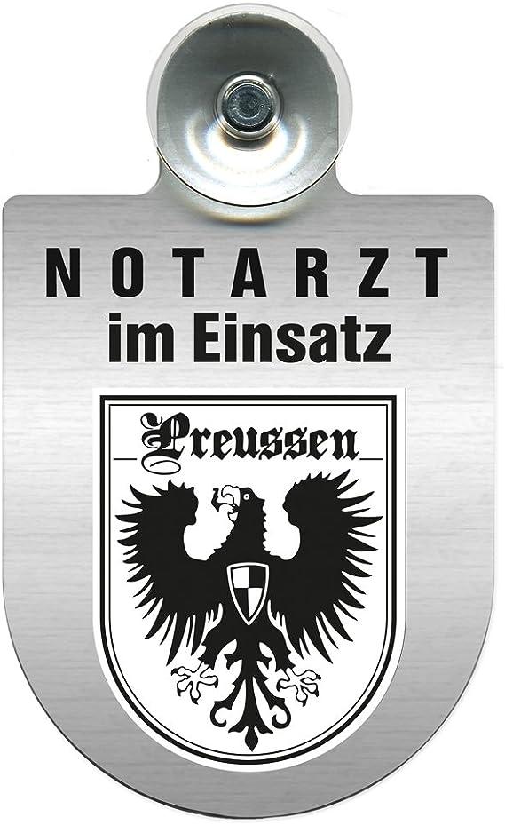 Einsatzschild Windschutzscheibe Incl Saugnapf Notarzt Im Einsatz 309353 Incl