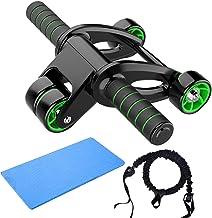 LYQY, ab roller wiel, 3 stks, ab roller opvouwbare, abdominale wiel huis, fitness fitness fitnessapparatuur voor vrouwen M...