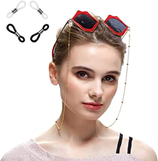 Xiang Ru Cord Neck String Glasses Chain Beads Reading Eyeglasses Neck Cord Sunglasses Strap Holder