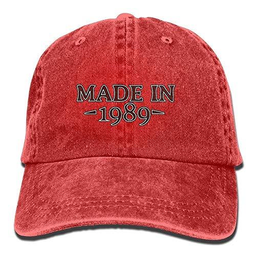 Denim-Baseball-Cap aus dem Jahr 1989 Adult Vintage Washed Outdoor Ort Hat Multicolor4