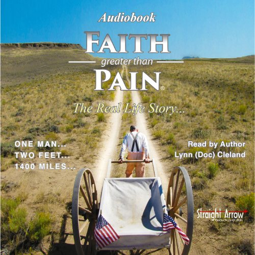 Faith Greater than Pain audiobook cover art
