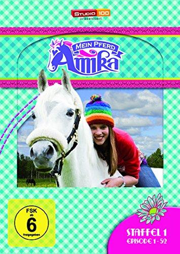 Mein Pferd Amika - Staffel 1, Episode 1-52 [4 DVDs]