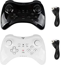 Wii U Pro Controller- Kulannder Wireless Rechargeable Bluetooth Dual Analog Controller Gamepad for Nintendo Wii U with USB... photo
