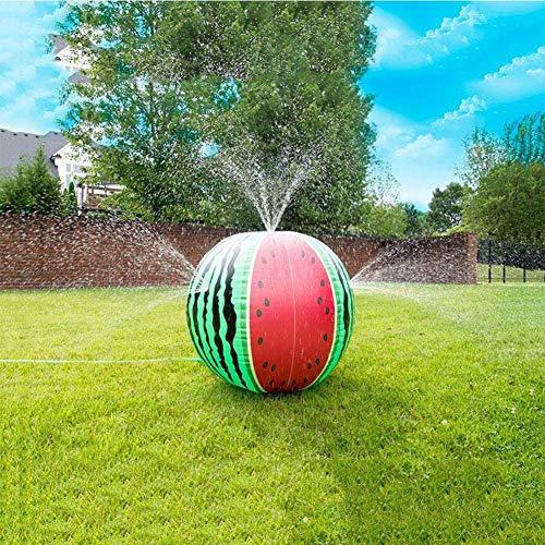 Aufblasbare Wasserball Spray Ball- Kinder Strand Außen Rasen Wasser Color Ball Aufblasbares Spielzeug Wassermelone Spielen Spray