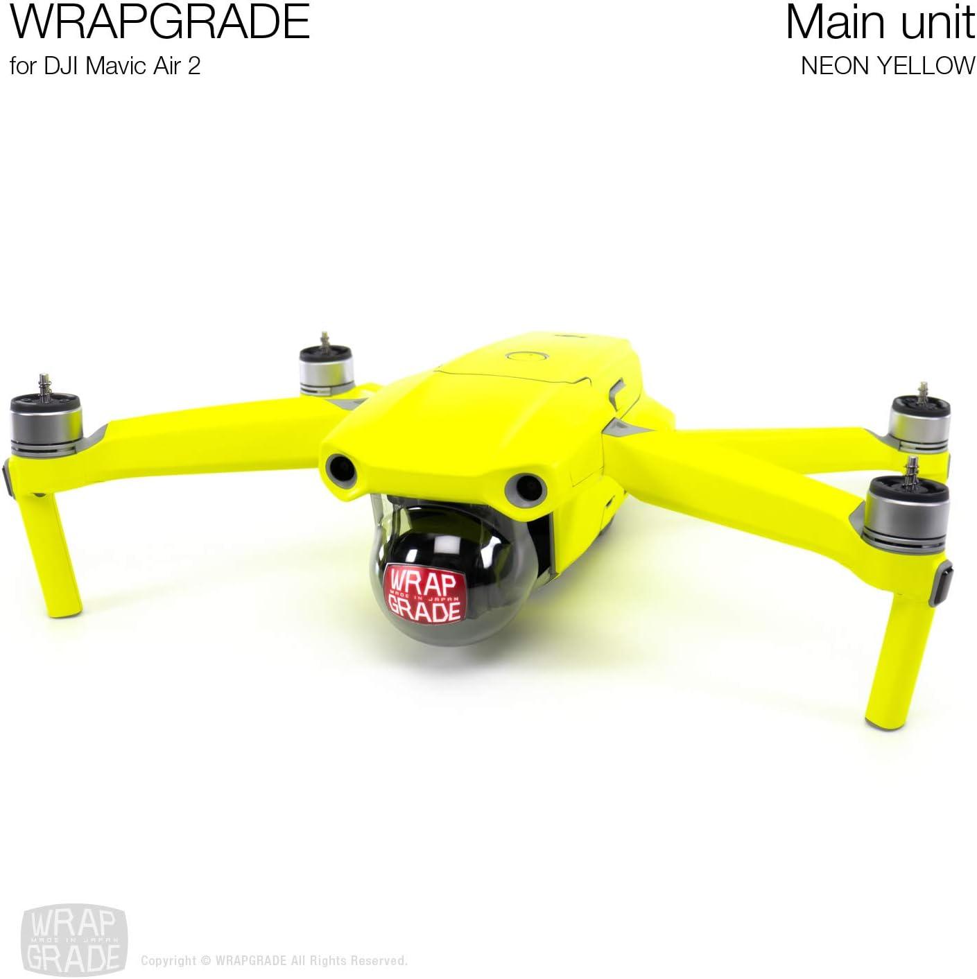 Wrapgrade Main Unit Skin Compatible with DJI Mavic Air 2 TITANIUM