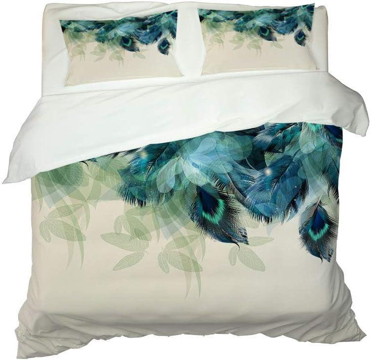 Four-Piece Max 47% OFF Bedding Set Microfiber Super sale period limited Printed Comforter