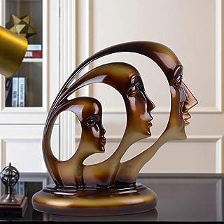 KOONNG Ornenents Decoration Art Minimaliste Moderne décoration Figure Abstraite Mode créative étude à la Maison Salon TV d...