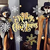 kina UVNT0043 Etiqueta de la Ventana para Las Tiendas - 2 Hojas de 45x35 cm - Decoraciones de Navidad, Pegatinas, Vinilos