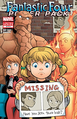 Fantastic Four and Power Pack (2007) #2 (of 4) (English Edition ...