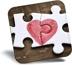 Destination Vinyl ltd Awesome Fridge Magnet - Jigsaw Puzzle Love Heart Fiance Wife 8772