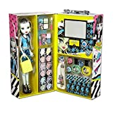 Monster High Frankie Fashion Doll Case with 57 pcs Ghoul Beauty Collection