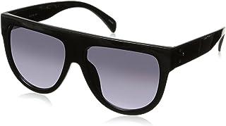 zeroUV - Large Oversize Wide Temple Flat Top Aviator Sunglasses 57mm
