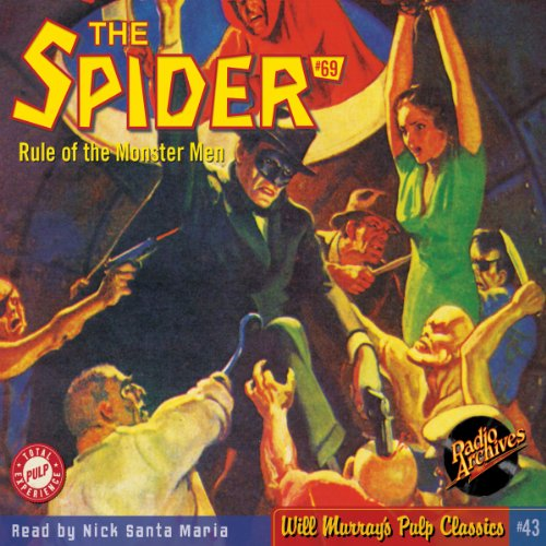 Spider #69, June 1939 (The Spider) audiobook cover art