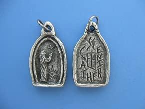 St Catherine of Siena, Patron of Nurses and Nursing Students, Handmade Medal