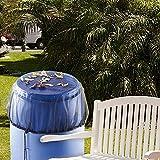 Paquete De 2 Fundas De Malla Para Barriles De Lluvia Previene La Acumulación De Escombros Mantiene A Los Insectos Fuera Con Prácticos Cubos Con Cordón Cubierta Accesorios Para Barriles De Lluvia