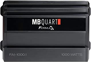 MB Quart XFA110001D Black Formula Series Monoblock Class D Amp (1,000 Watts)