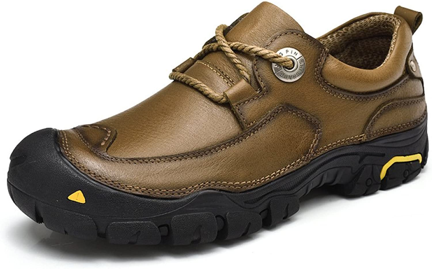 YXLONG New Men's Outdoor Casual shoes Tooling shoes Men's Low To Help Leather Suede Leather 46 Large Size Men's shoes