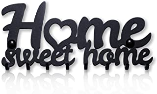 Colgador de Llaves de Pared Home Sweet Home (8 Ganchos)