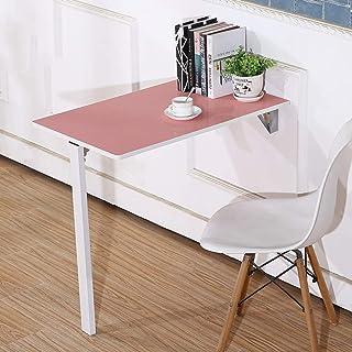 YNAYG Table Murale Table Convertible Murale pour Bureau Convertible pour Espace restreint, Bureau d'ordinateur Portable Mu...