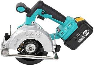 Sierra circular de 100-125 mm, sierra eléctrica de 1100 W con velocidades ajustables de 0 a 3900 rpm, sierra circular inalámbrica para azulejos de piedra de madera(欧规)
