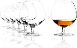 Stölzle Lausitz Cognacschwenker I 585 ml I 6er Set Cognac Gläser I spülmaschinenfest I edles bleifreies Kristallglas I hochwertige Qualität I schöne Optik I