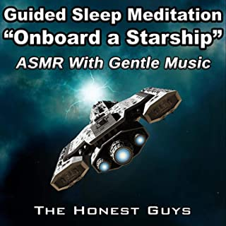 Guided Sleep Meditation: Onboard A Starship (Asmr With Gentle Music)
