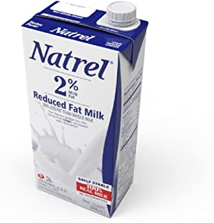 Natrel Milk 2%, 32 Ounce (Pack of 6)
