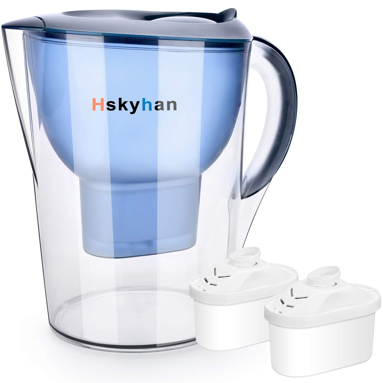 Hskyhan Alkaline Water Filter Pitcher
