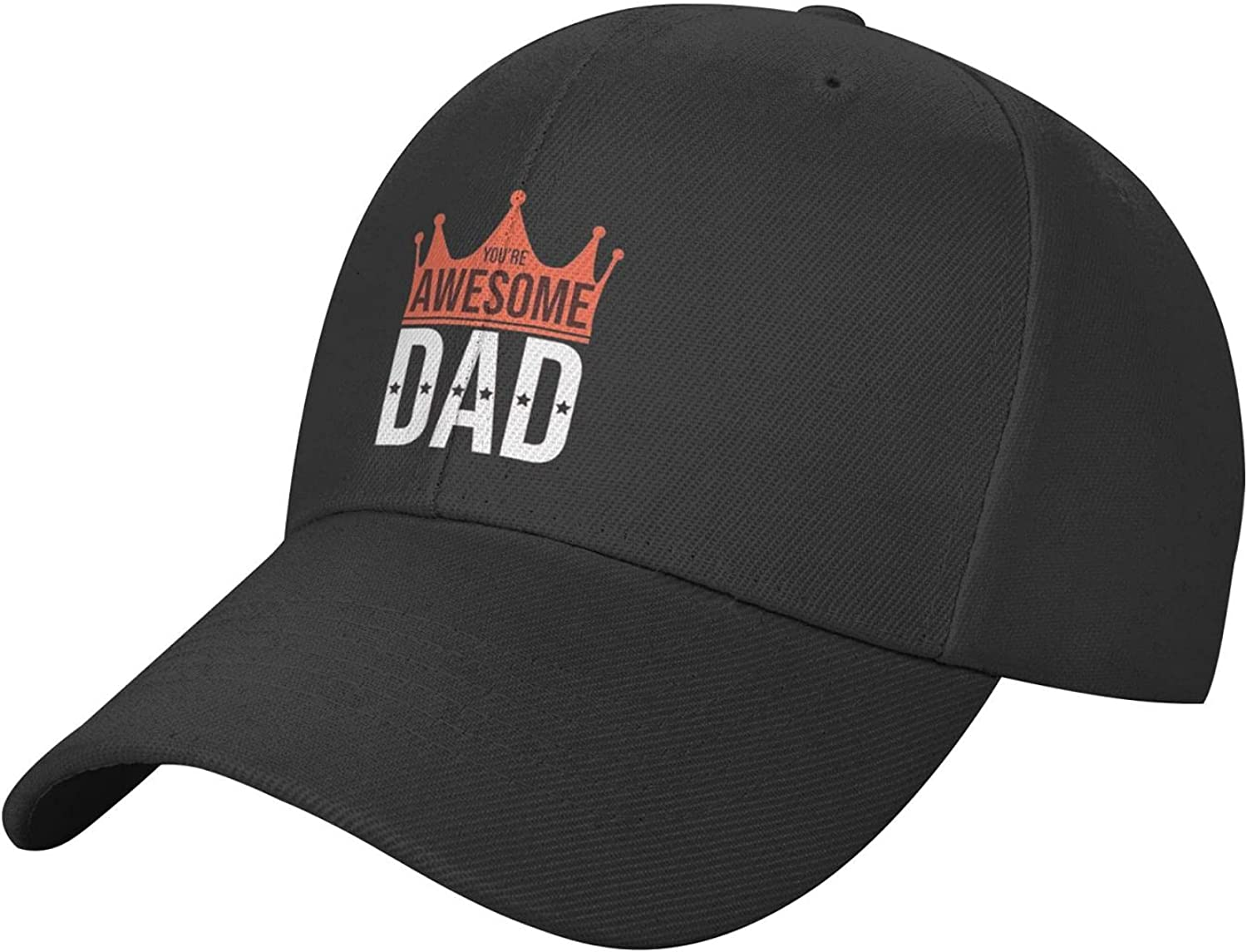 vdcucc Awesome Dad Fashion Solid Color Cap Hat Man Woman Cool Baseball Cap Adjustable Caps Dad Hat