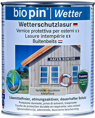 Biopin Wetterschutzlasur-farblos-2,50 l