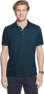 Men's Slim Fit Short Sleeve Ottoman Solid Polo Shirt