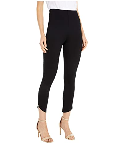 Lysse Jasmyne Crop Leggings in Lightweight Ponte (Black) Women
