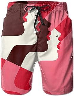 FUN Oven Mitts Malika Favre Art Men's Beach Shorts Trunks Quick Dry Summer with Mesh Lining Pockets