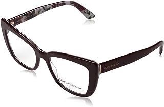 Dolce & Gabbana PRINTED DG 3308 Burgundy Rose And Peony 53/18/145 women eyewear frame